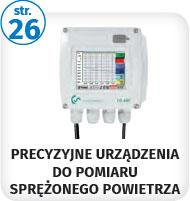 Strona 26 - precyzyjne urządzenie do pomiaru sprężonego powietrza